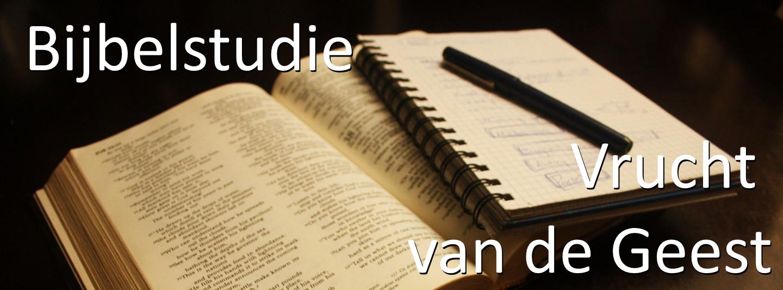 Start nieuwe Bijbelstudie!