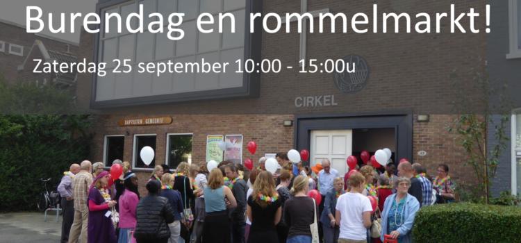 25 september – Burendag en rommelmarkt!